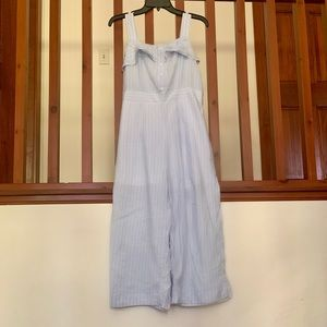 Blue and White stripped jumper from paper crane